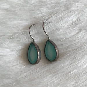 Jewelry - Light Blue and Silver Earrings